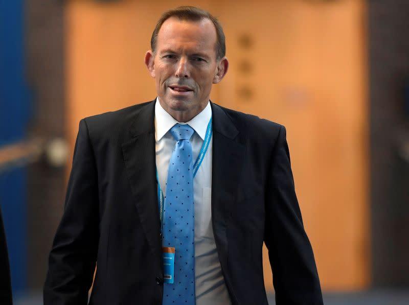 Britain names former Australian PM Abbott as trade adviser