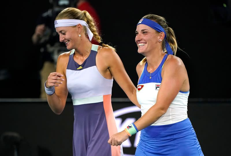 Mladenovic-Babos withdrawn from U.S. Open doubles after quarantine notice