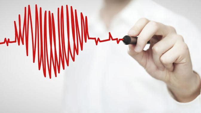 Ilustrasi Kesehatan Jantung.