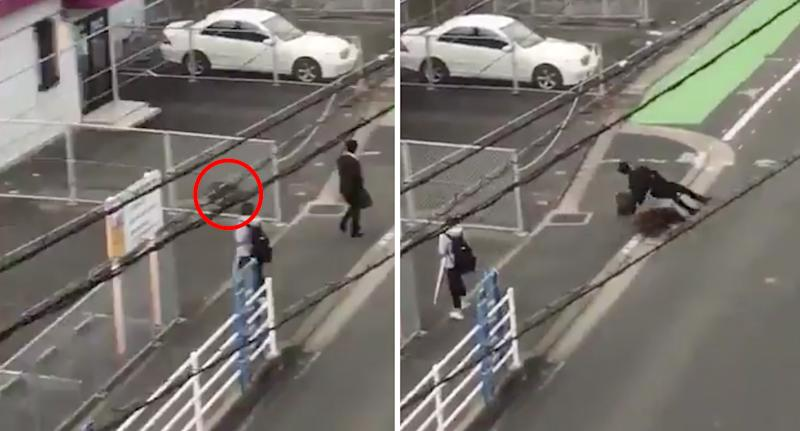 Man attacked by wild boar on his way to work in Japan
