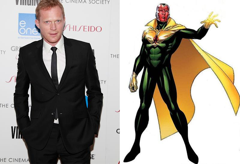 Paul Bettany Gets Upgraded to The Vision in 'The Avengers: Age of Ultron'