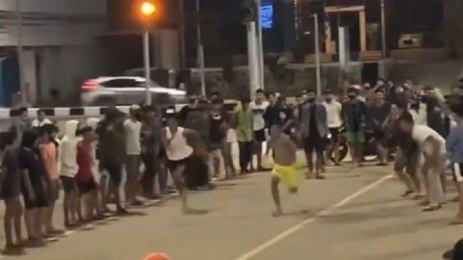 Balap lari di jalanan