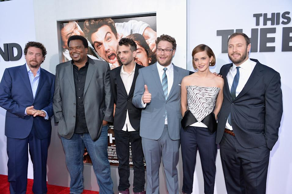 "Premiere Of Columbia Pictures' ""This Is The End"" - Red Carpet"