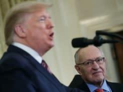 Pengacara selibritis Dershowitz akan bela Trump