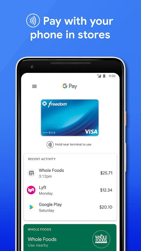 paypal vs google wallet venmo square cash pay screenshot 1