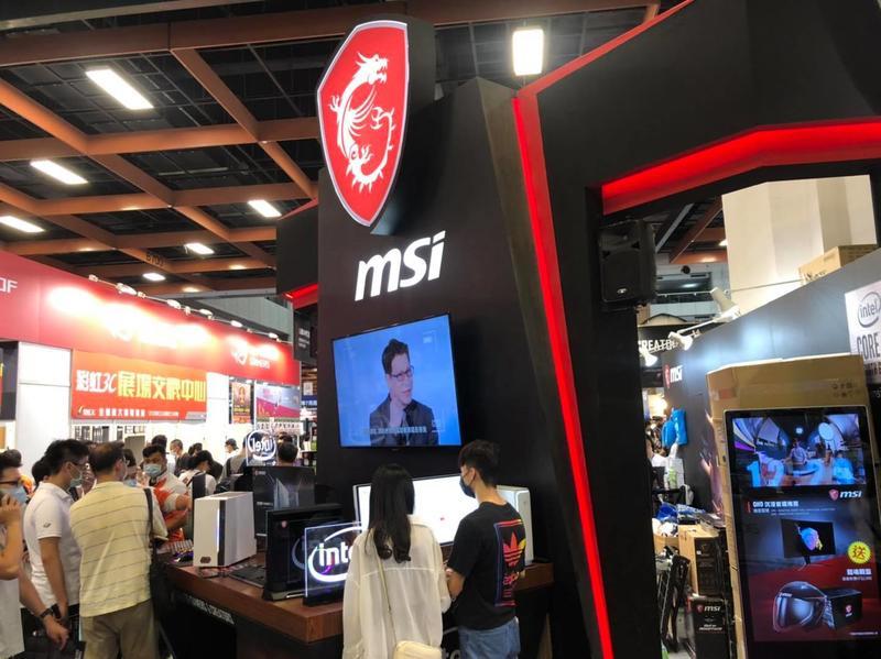 微星今天召開臨時董事會,新任總經理交由副董事長黃金請擔任。圖:取自MSI Gaming臉書