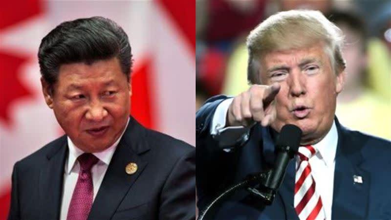 中共國家主席、美國總統川普(組合圖/資料照)