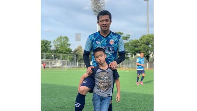 Jago Olahraga, Ini 6 Potret Nayutama Anak Bungsu Taufik Hidayat (sumber: Instagram.com/nayottama.hidayat)
