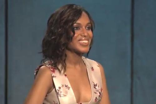 'Scandal's' Kerry Washington Versus 'Project Runway's' Kerry Washington Tonight (Video)