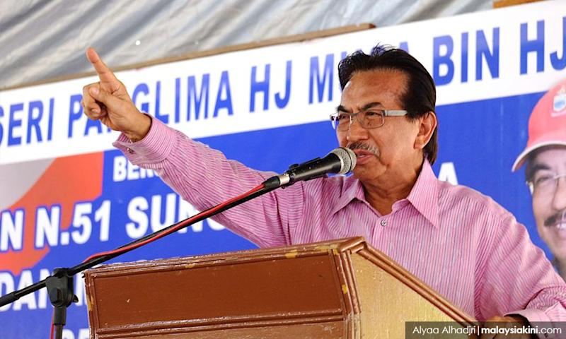 Musa finally returns to Sungai Manila, urges voters to reject Shafie