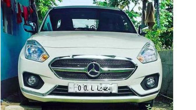 Mercedes-Benz Dzire (Cartoq.com)