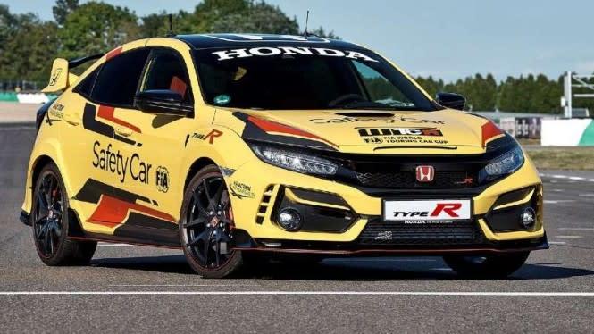 Honda Civic Type R Limited Edition Jadi Safety Car Balapan Dunia