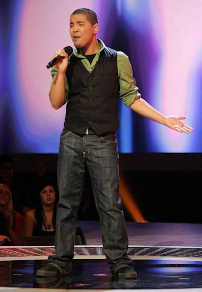 AJ Tabaldo performs on the 6th season of American Idol.