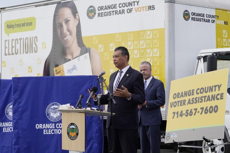 California Election Unofficial Boxes