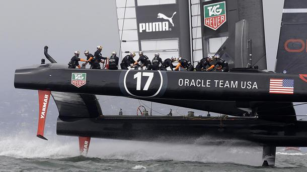 NASCAR on water: The billionaire fight for the America's Cup