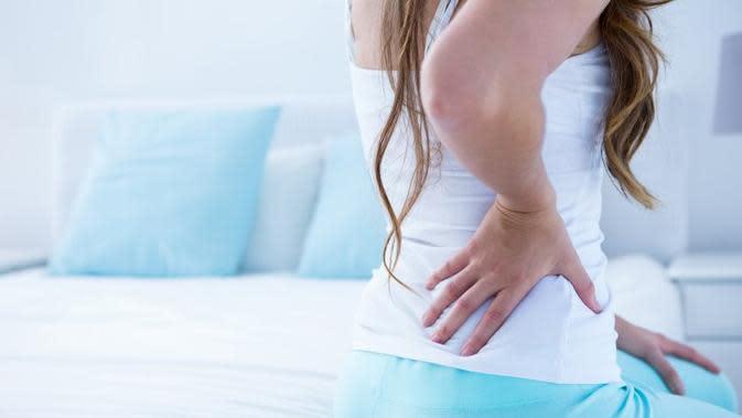 Ilustrasi sakit pinggang. (Sumber Foto: shutterstock)