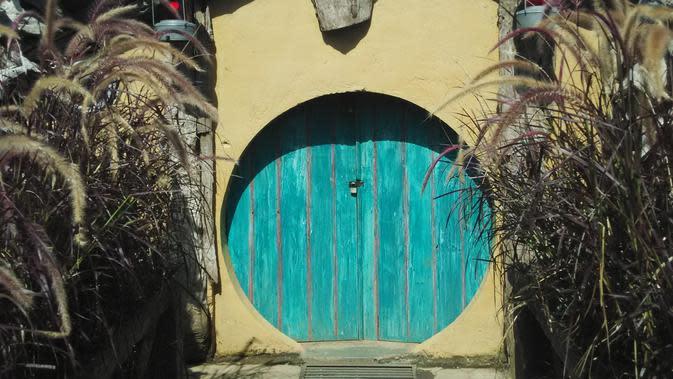 Rumah Hobbit Farmhouse Susu Lembang (Foto: Liputan6.com/Firman Fernando)