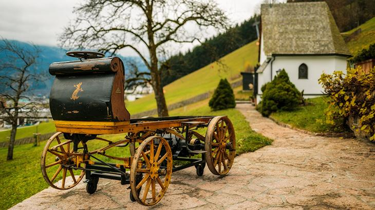 First Porsche uncovered after 112 years of hiding