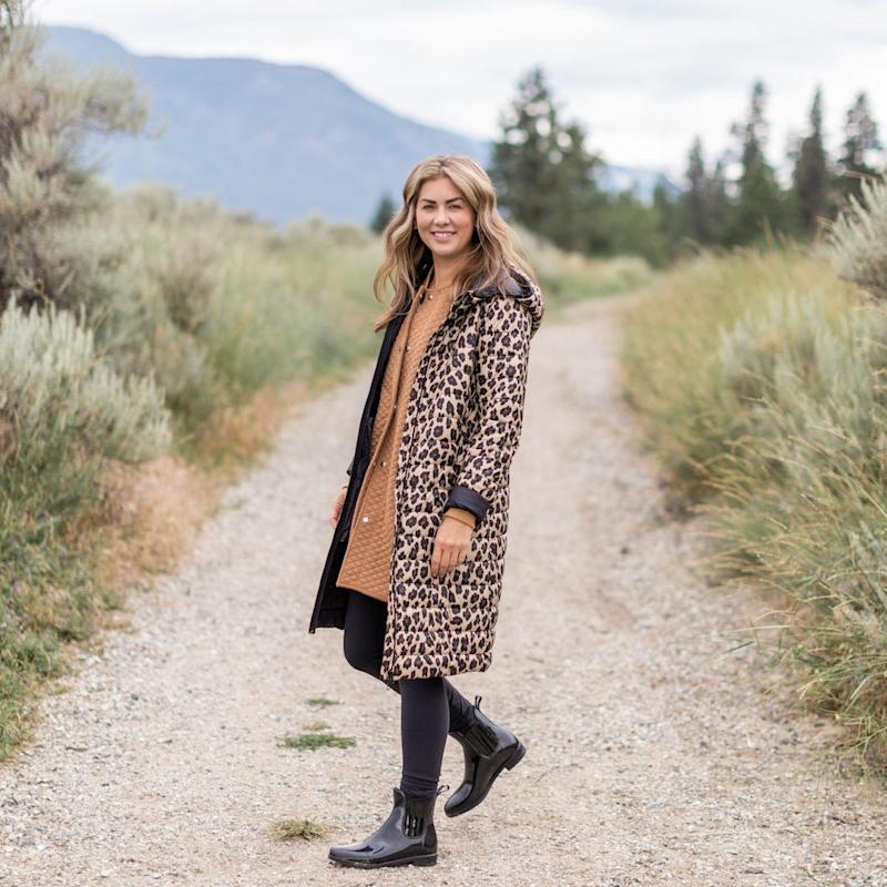 Join the waitlist and be the first to shop the new leopard Jilly Jacket. Image courtesy of Joe Fresh.