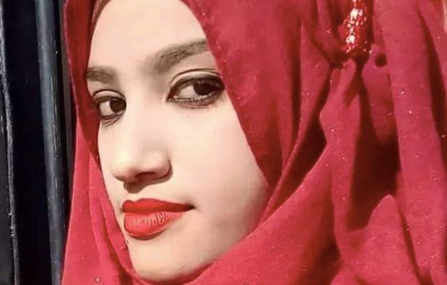 Nusrat Jahan Rafi says a headteacher at her school sexually harassed her.