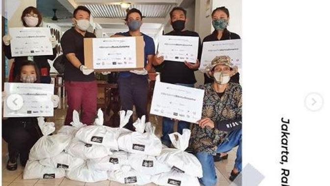 Terdampak Pandemi, Ciputra Artpreneur Salurkan Donasi Bagi Pekerja Seni. (dok.Instagram @artpreneur/https://www.instagram.com/p/CAej1nSg4L0/Henry)