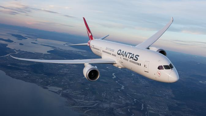 Qantas International seakan tak ingin berhenti membuat gebrakan terbaru dengan memesan enam pesawat 787-9 Dreamliners untuk menggantikan penggunaan enam pesawat 747-400 terakhirnya pada akhir 2020 mendatang. (Foto: dokumen Qantas)