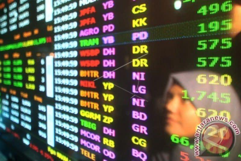 Hingga Agustus 2020 nilai transaksi saham warga Sumbar Rp4,17 triliun