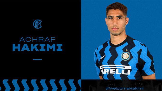 Achraf Hakimi resmi jadi milik Inter Milan. (Dok Inter Milan)