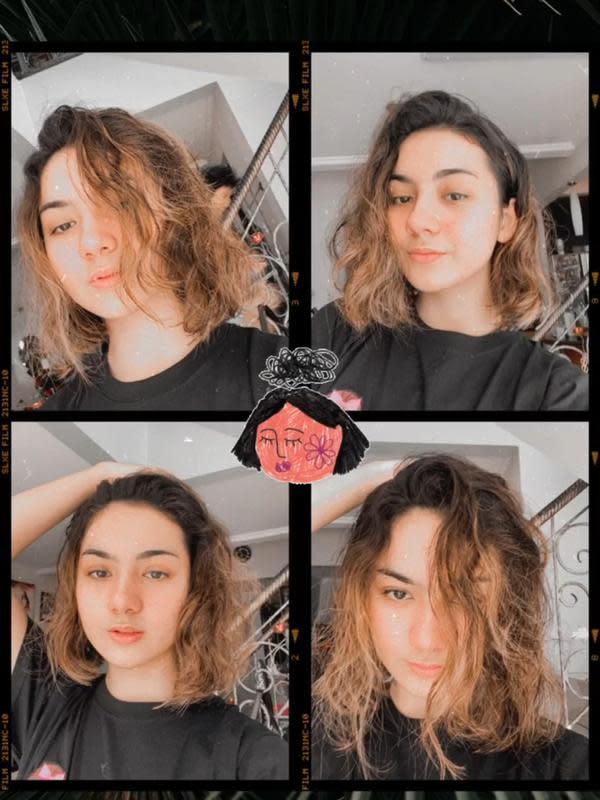 Potret Terbaru Ersya Aurelia dengan Rambut Pendek. (Instagram.com/ersyaurel)