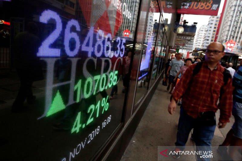 Saham Hong Kong naik hari ke 6 beruntun, indeks HSI tambah 0,54 persen