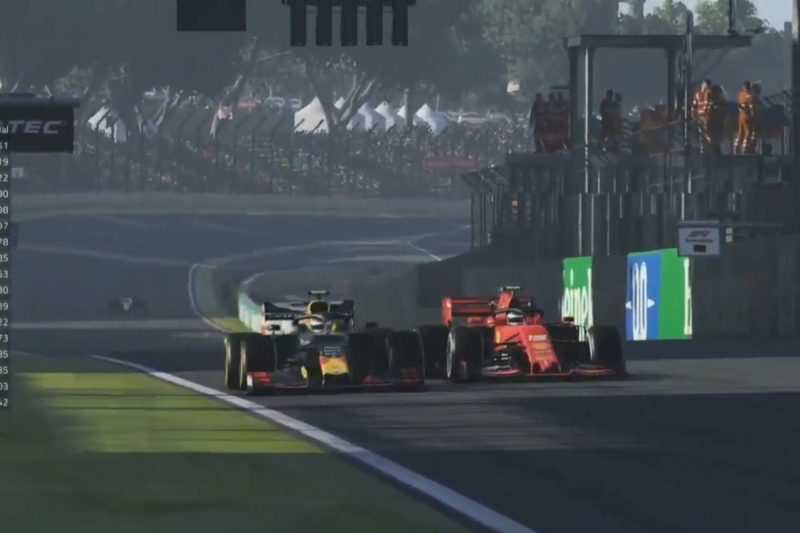 Albon hentikan kemenangan beruntun Leclerc di Interlagos