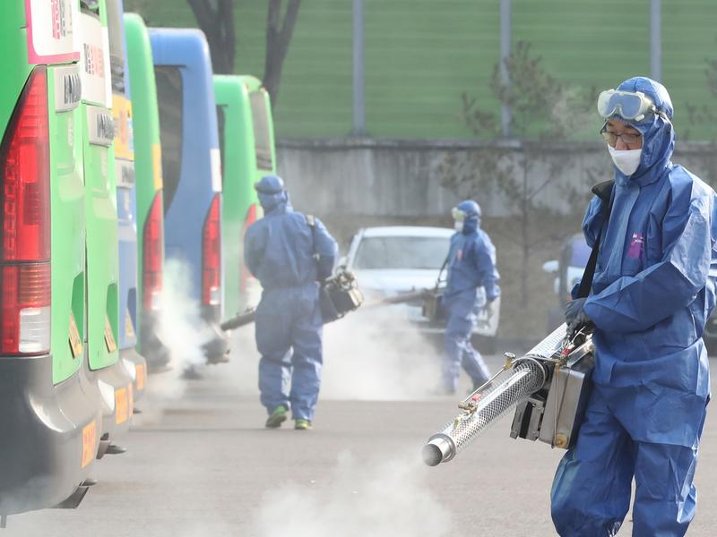 南韓疫情急速蔓延 進入社區傳播階段