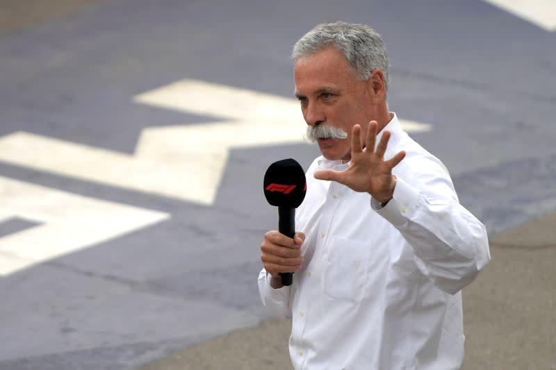 Formula One expects shortened season of 15-18 races