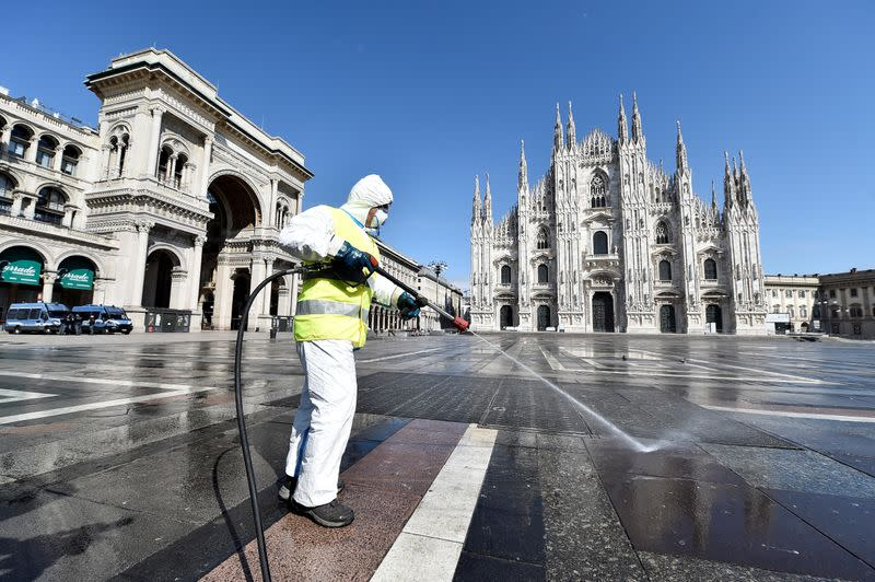 Italy working on coronavirus tracing app to help lockdown exit