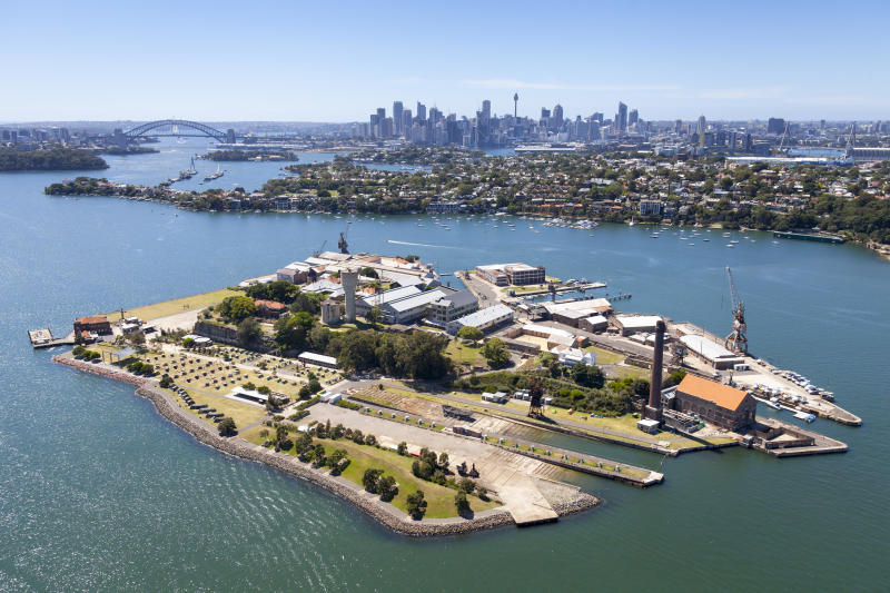 Cockatoo Island sits in the middle of the harbour, but it's on the edges of the city's consciousness. Photo: Getty Images