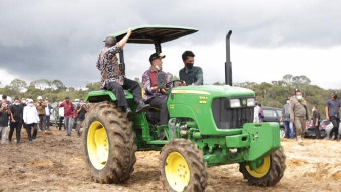 Pertanian merupakan sektor yang tahan banting meski di masa pandemi Covid-19.