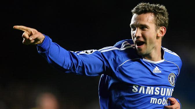 Sukses di Italia, Andriy Shevchenko melempem bersama Chelsea. (AFP/Odd Andersen)
