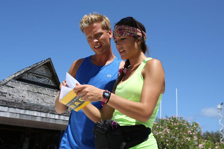 """""""The Amazing Race"""" -- """"Business in the Front, Party in the Back"""""""