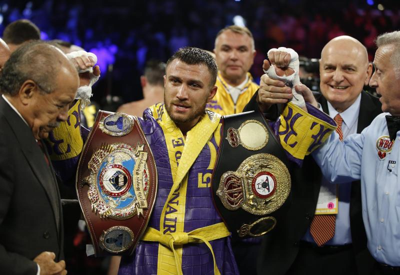 Lomachenko Lopez Boxing