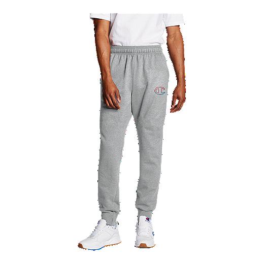 Champion Men's Graphic Powerblend Fleece Jogger Pants