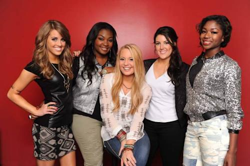 The 'American Idol' Top 5, Season 12 -- FOX
