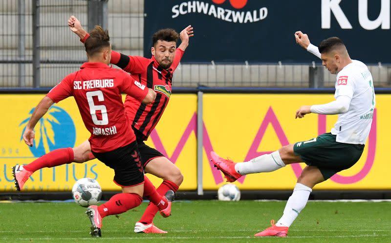 Bittencourt goal helps Bremen overcome Freiburg