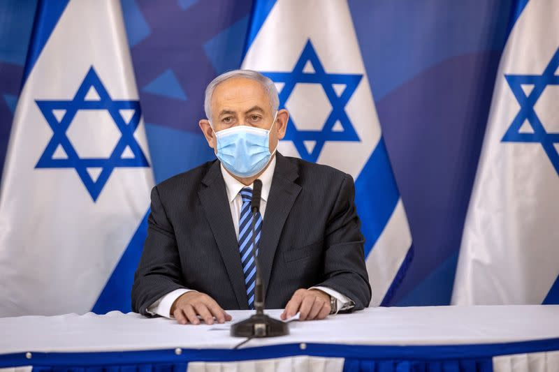 Israel's Netanyahu condemns protests against him, criticises media