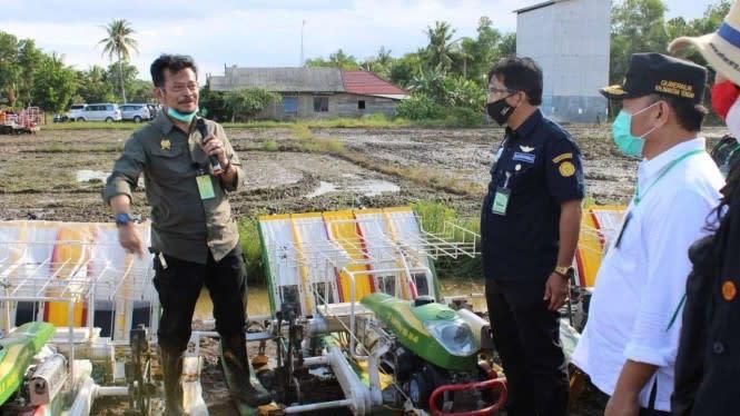 Terendam Banjir, Kementan Imbau Petani di Aceh Urus Klaim Asuransi