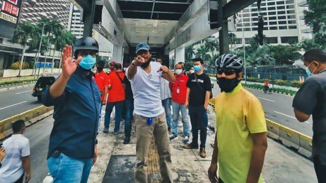 Anies Pastikan Halte Transjakarta Bundaran HI Beroperasi Senin Besok