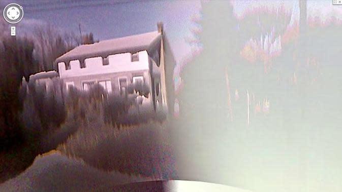 Satu-satunya rumah berhantu di kota (Jon Rafman/Google Street View)