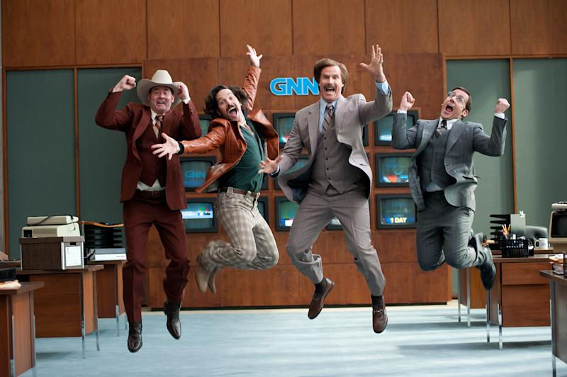 What's a Typical Day for Ron Burgundy and the 'Anchorman 2′ News Team?