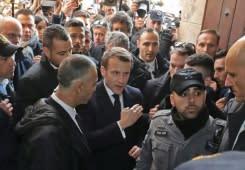Macron kehilangan kesabaran dengan keamanan Israel