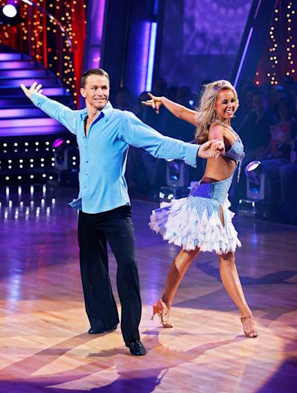 """Ty Murray and Chelsie Hightower perform the Rumba to """"Free Fallin'"""" by Tom Petty on """"Dancing with the Stars."""""""