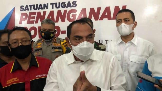 Bedah Draf UU Ciptaker, Gubernur Sumut Minta Jangan Demo Dulu
